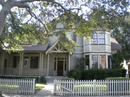 """The Seaver house; """"Growing Pains""""."""