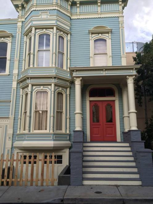 """The exterior of """"Fuller House""""."""