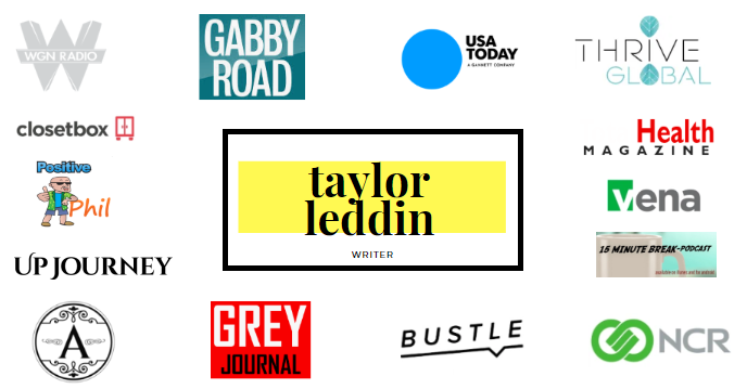 taylor leddin logo collage